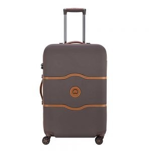 Delsey Chatelet Air 4 Wheel Trolley 67 chocolate Harde Koffer
