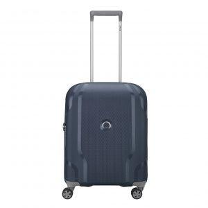 Delsey Clavel 4 Wiel Cabin Trolley blue Harde Koffer