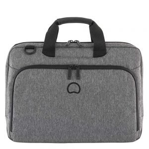 """Delsey Esplanade Two Compartments Laptop Bag 15.6"""" anthracite"""