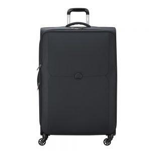 Delsey Mercure 4 Wheels Expandable Trolley 79 black Zachte koffer