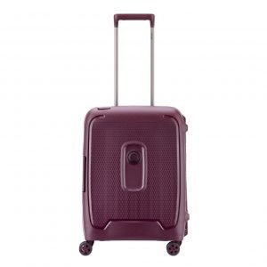 Delsey Moncey 4 Wheel Trolley 55 Slim purple Harde Koffer