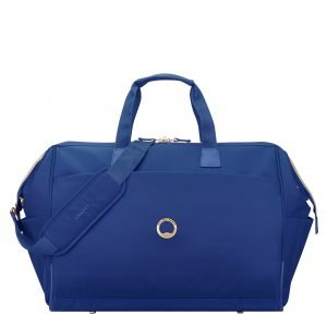 Delsey Montrouge Cabin Duffle Bag blue Weekendtas