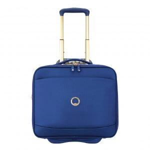 Delsey Montrouge Cabin Trolley Boardcase blue Pilotenkoffer