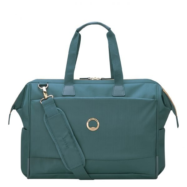 Delsey Montrouge Reporter Bag green