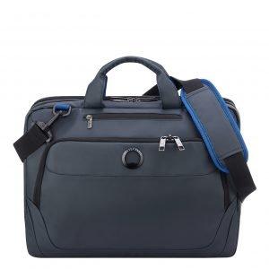 Delsey Parvis Plus 2 Compartment Laptop Satchel L 15.6'' gris