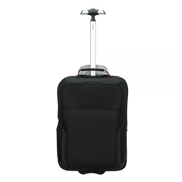 Delsey Parvis Plus Cabin Trolley Backpack 17.3'' black Handbagage koffer Trolley