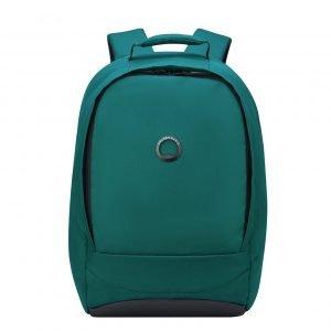 Delsey Securban Rugzak 13.3'' green backpack