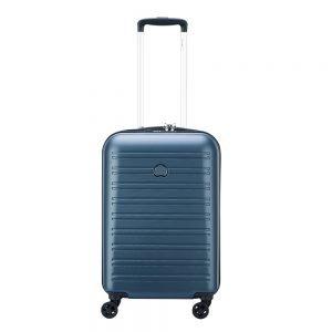 Delsey Segur 2.0 4 Wheels Cabin Trolley 55 blue Harde Koffer