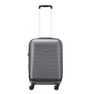 Delsey Segur 2.0 4 Wheels Expandable Business Cabin Trolley 55 grey Harde Koffer