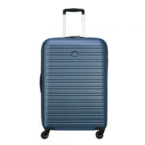 Delsey Segur 2.0 4 Wheels Trolley 70 blue Harde Koffer
