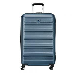 Delsey Segur 2.0 4 Wheels Trolley 78 blue Harde Koffer