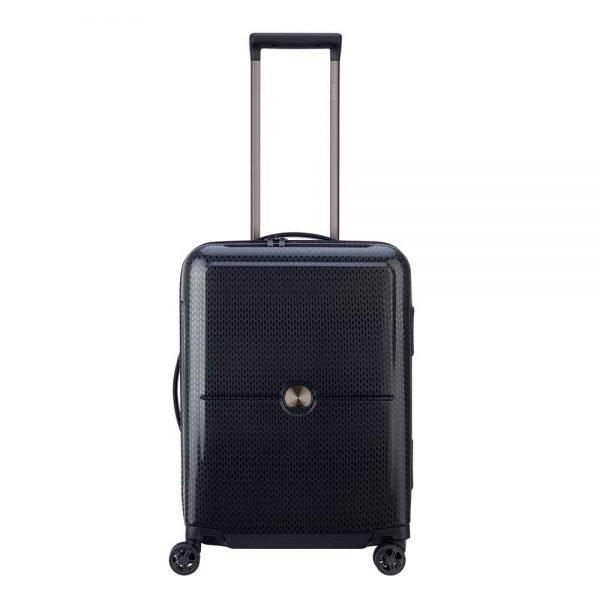 Delsey Turenne 4 Wheel Trolley 55 black2 Harde Koffer