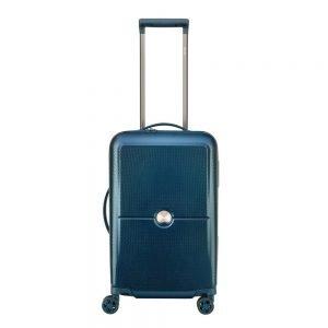 Delsey Turenne 4 Wheel Trolley 55 night blue Harde Koffer