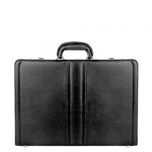 Dermata Business Leather Attaché zwart