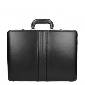 Dermata Business Leather Attaché zwart2