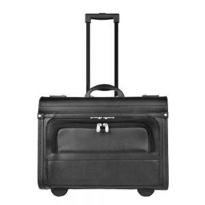Dermata Business Pilottrolley zwart II Handbagage koffer