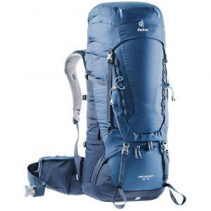 Deuter Aircontact 45 + 10 Backpack midnight/navy backpack