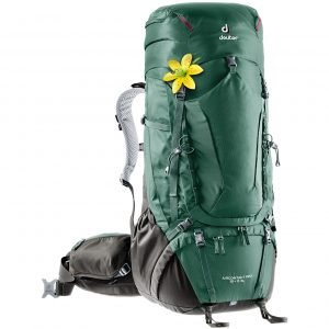 Deuter Aircontact Pro 55 + 15 SL seagreen/coffee backpack