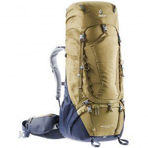 Deuter Aircontact Pro 60 + 15 clay/navy backpack