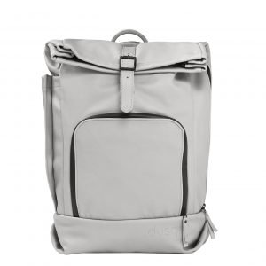 Dusq Family Bag Leather cloud grey backpack