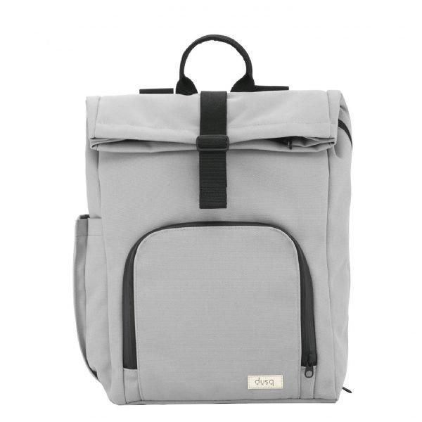 Dusq Vegan Bag Canvas cloud grey backpack