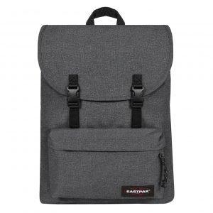 Eastpak London + Rugzak black denim backpack