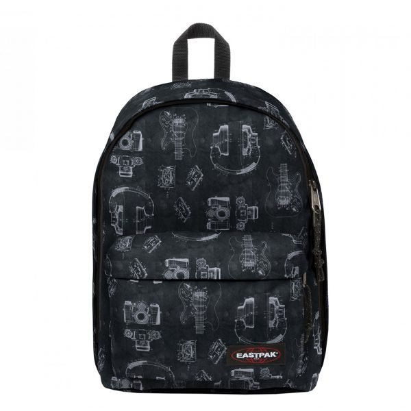 Eastpak Out of Office Rugzak patent black backpack