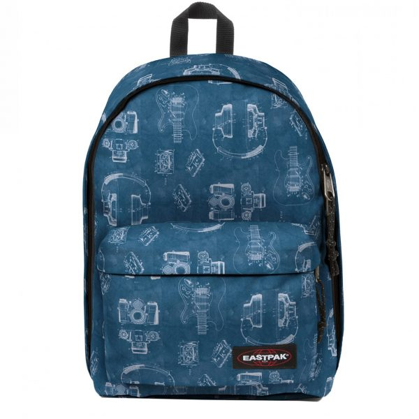 Eastpak Out of Office Rugzak patent blue backpack