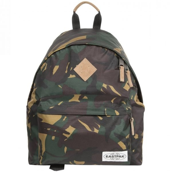 Eastpak Padded Pak'r Rugzak into nylon camo