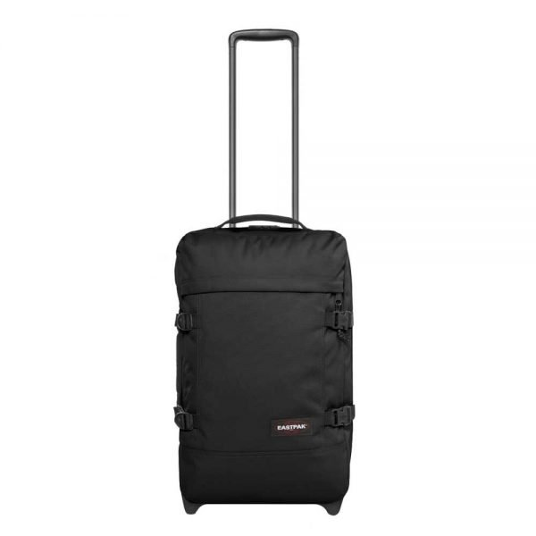 Eastpak Strapverz Trolley Backpack S black Handbagage koffer Trolley