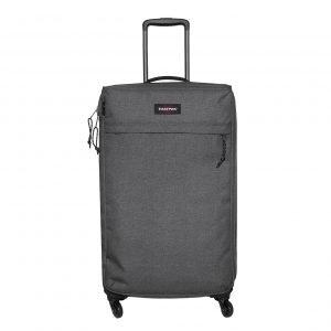 Eastpak Traf'ik 4 M black denim Zachte koffer
