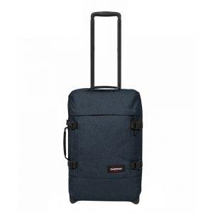 Eastpak Tranverz S triple denim Handbagage koffer Trolley