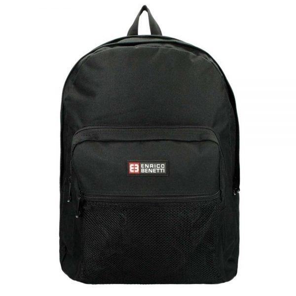 "Enrico Benetti Amsterdam Laptop Rugzak 15"" black backpack"