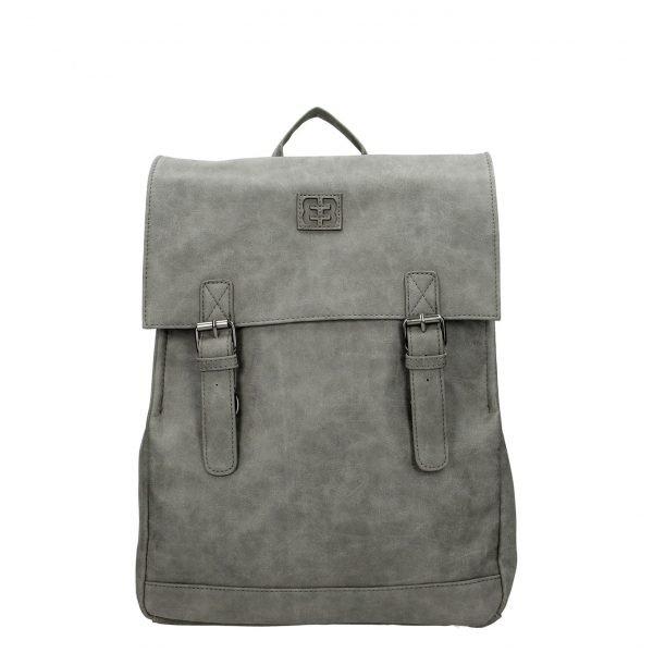 "Enrico Benetti Ardèche Laptoprugzak 13"" middengrijs backpack"
