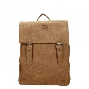 Enrico Benetti Ardeche Rugtas 13'' camel backpack