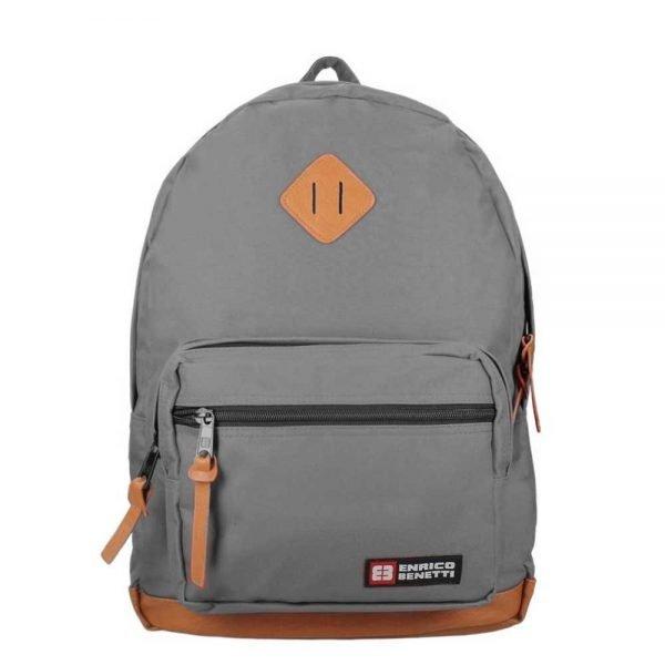 "Enrico Benetti Brasilia Laptop Rugzak 15.6"" grey backpack"