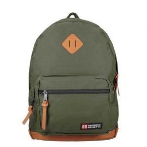 "Enrico Benetti Brasilia Laptop Rugzak 15.6"" olive backpack"