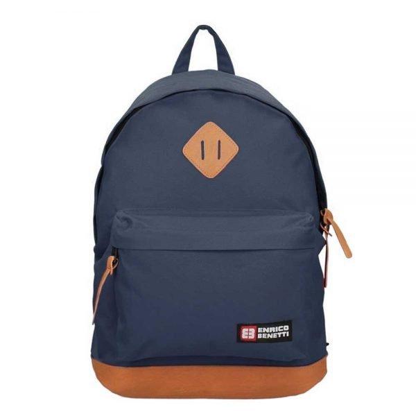 "Enrico Benetti Brasilia Rugzak 14"" blue backpack"