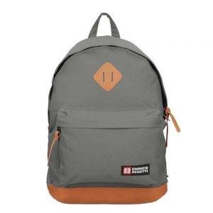 "Enrico Benetti Brasilia Rugzak 14"" grey backpack"