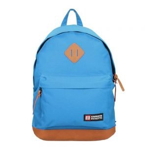 "Enrico Benetti Brasilia Rugzak 14"" sky blue backpack"
