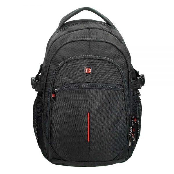 """Enrico Benetti Cornell Laptop Rugzak 15.6"""" black backpack"""