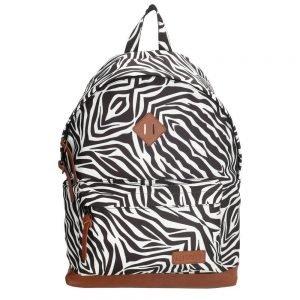 "Enrico Benetti Londen Rugzak 14"" zebra backpack"