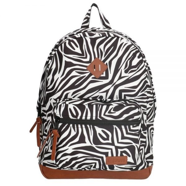 "Enrico Benetti Londen Rugzak 15"" zebra backpack"