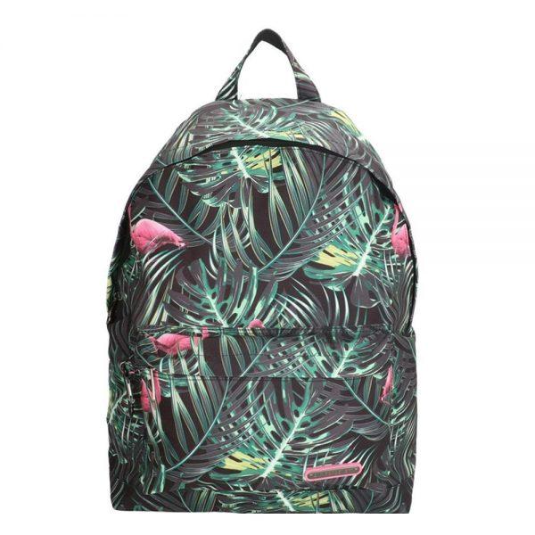 Enrico Benetti Malaga Rugtas flamingo zwart 46116877 backpack
