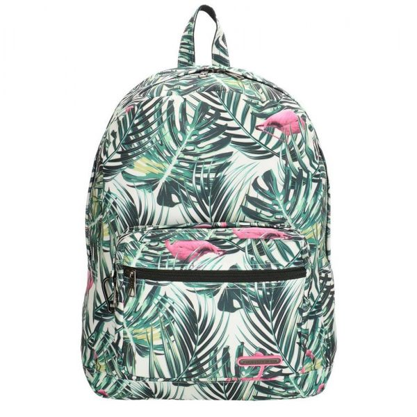 Enrico Benetti Malaga Rugzak flamingo print backpack