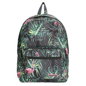 Enrico Benetti Malaga Rugzak flamingo zwart backpack