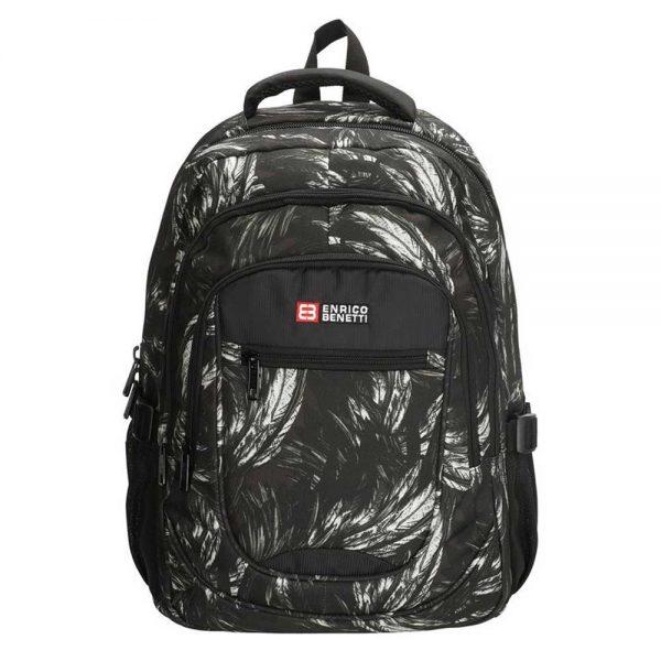 Enrico Benetti Santa Cruz 15.6'' Laptop Rugzak black with print backpack