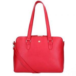 FMME. Charlotte 13.3 Workingbag 3 Pockets Grain red