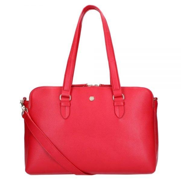 FMME. Charlotte 15.6 Workingbag 3 Pockets Grain red