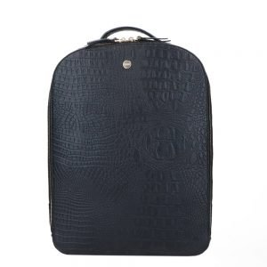 FMME. Claire 13.3 Backpack Croco black backpack